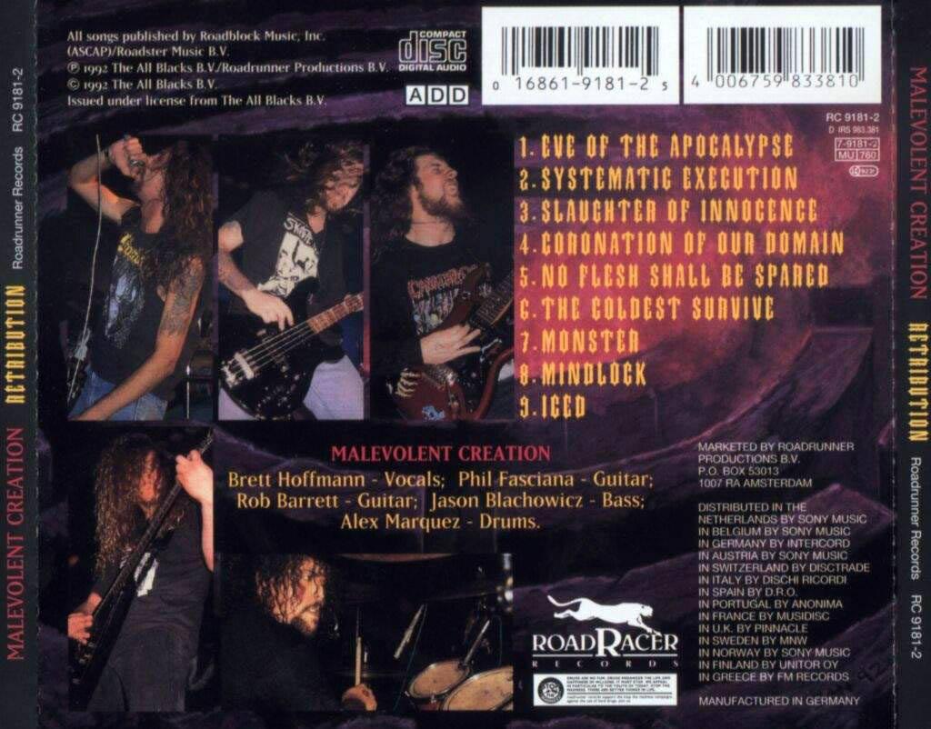 Malevolent Creation: Retribution